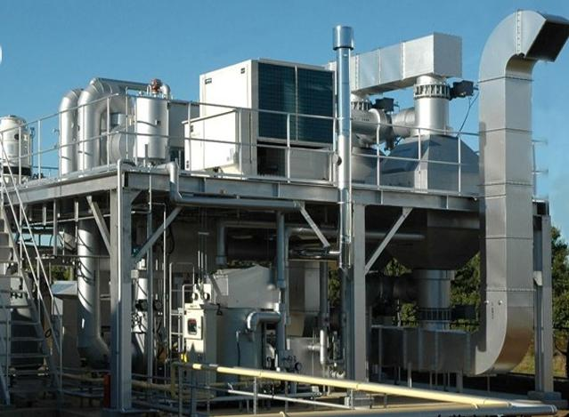 喷涂废气处理(干式过滤+活性炭吸附+有机废气催化)