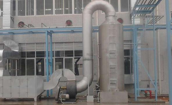 喷漆废气处理(水喷淋+吸附法)